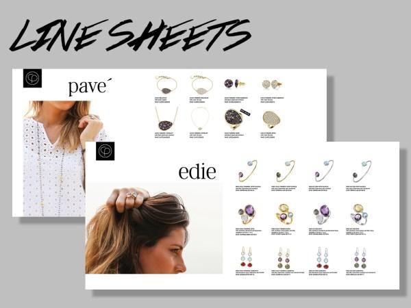 Line Sheet Design