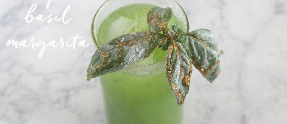 Honeydew Basil Margarita