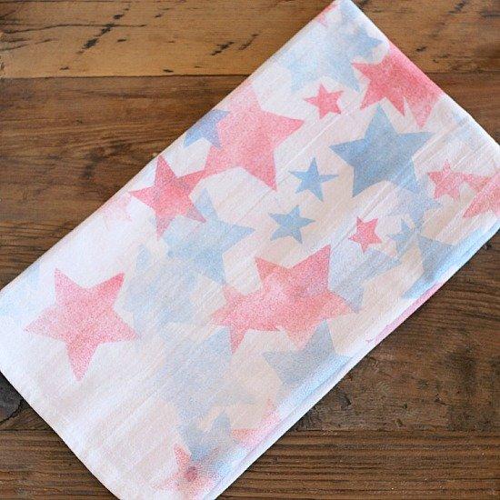 Patriotic Tea Towel
