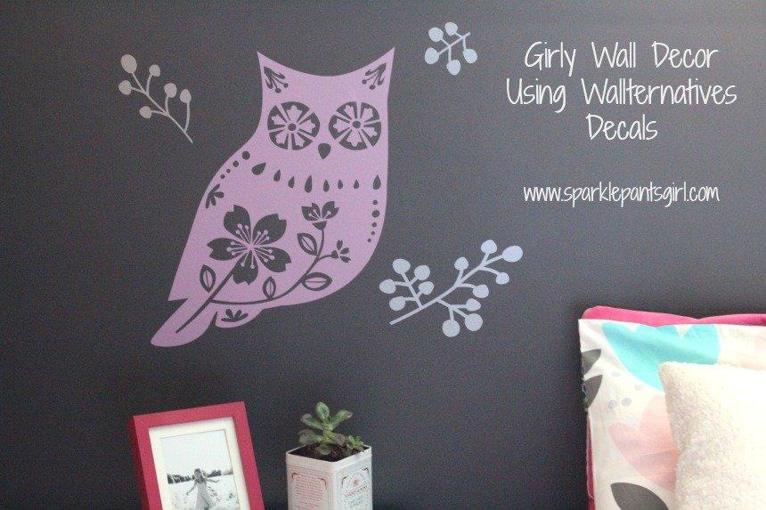 Wallternatives Decals www.sparklepantsgirl.com