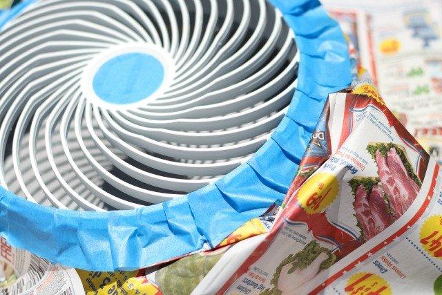 Painted Fan http://sparklepantsgirl.com