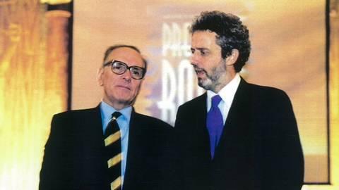 Nicola Piovani ed Ennio Morricone