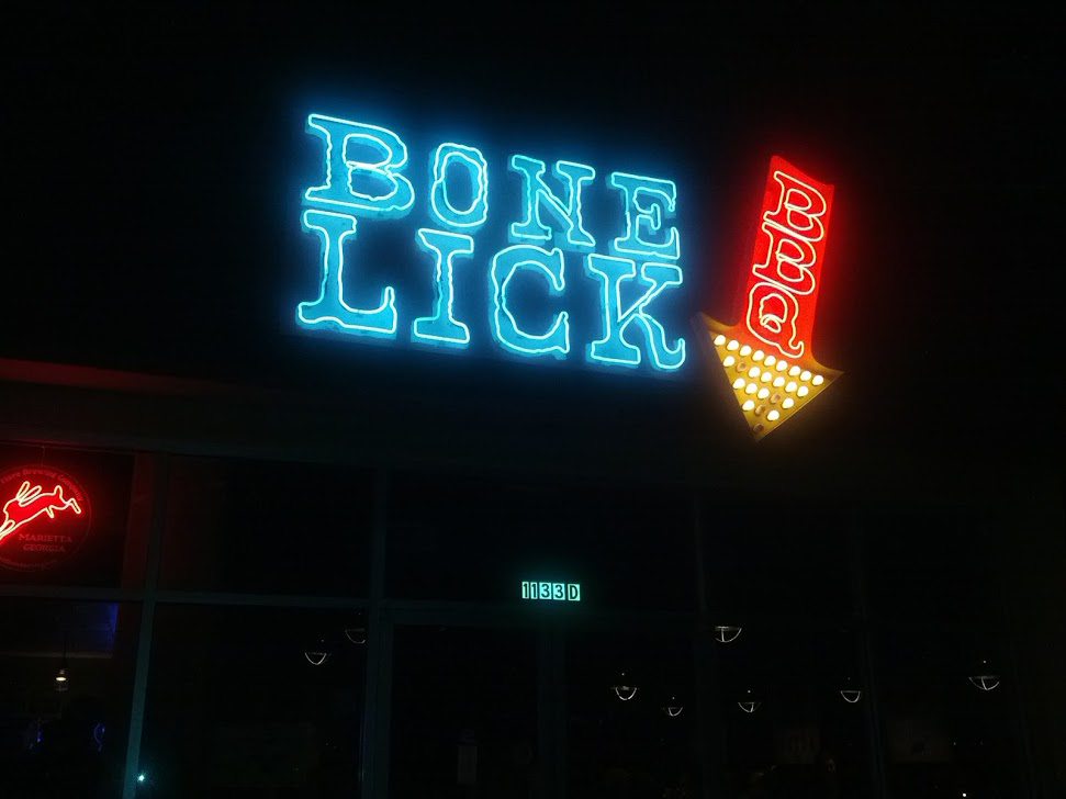 Bone Lick BBQ - Meat Week 2013