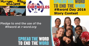 R- Word Day 2016 Story Contest