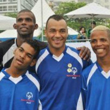 Cafu, embaixador da Special Olympics Brasil