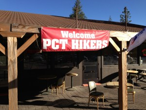 Sky Island Organics welcomed Pacific Crest Trail hikers to Idyllwild. Photo credit: Julie Pendray.