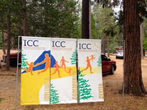 Idyllwild Community Center banners
