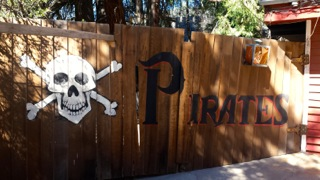 Pirate show gate Oak Glen