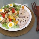 OIL POACHED MONTAUK TUNA NICOISE