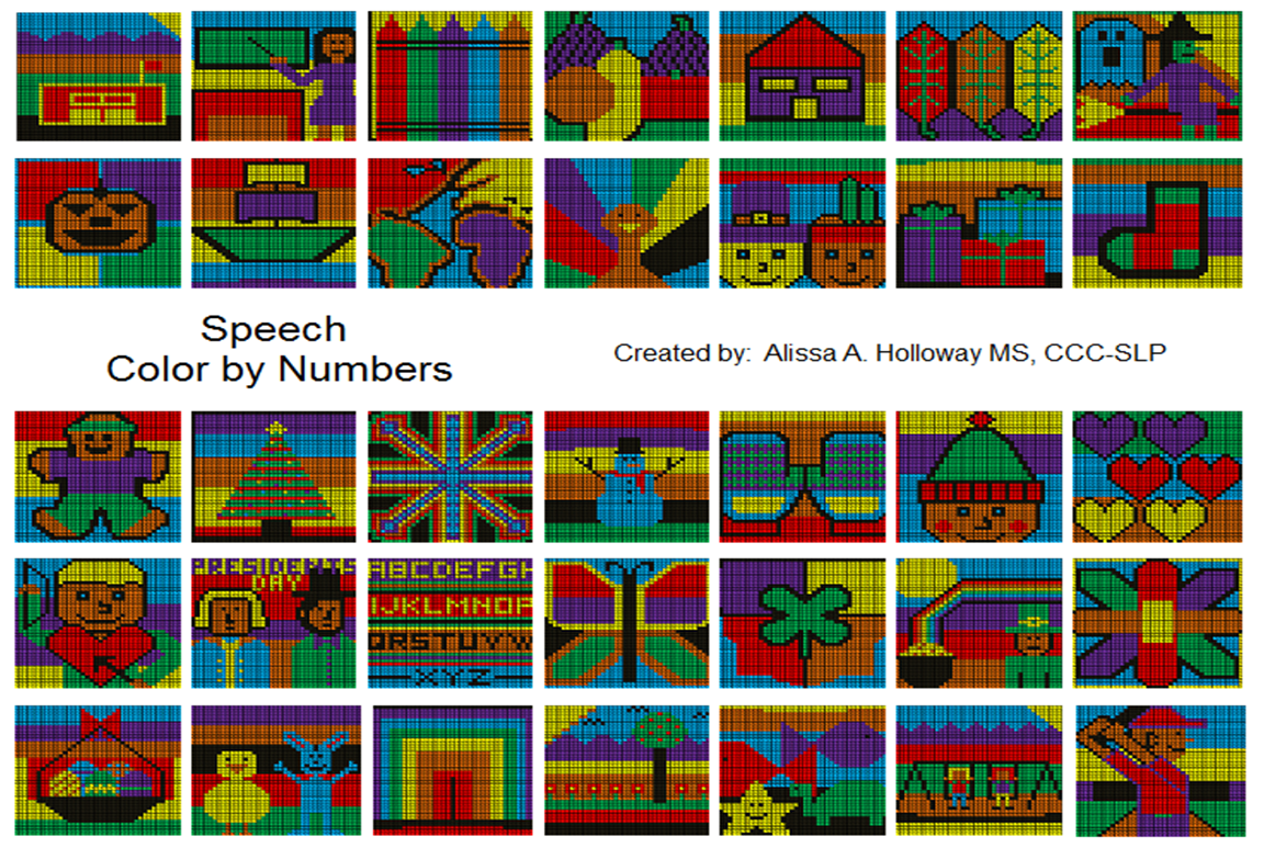 Speech Color by Numbers pic