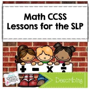Math Describing