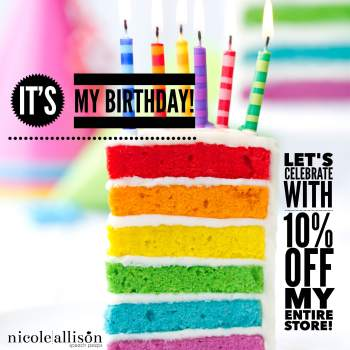 Birthday Sale {and a Sweet Gift for Me}!