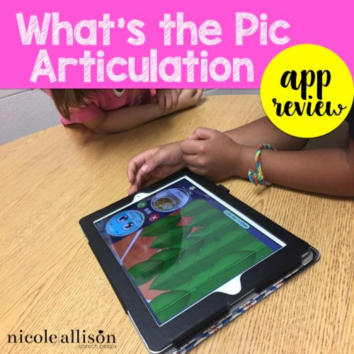 What's the Pic Articulation {App Review}