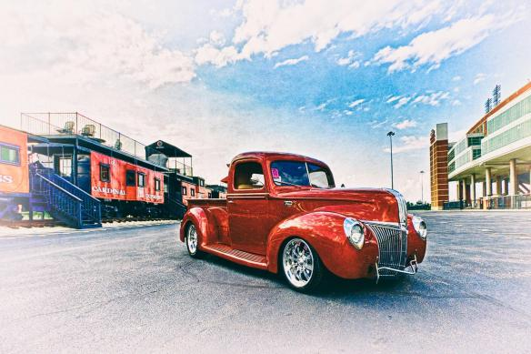Larry Burchett's 1941 Ford Build #1