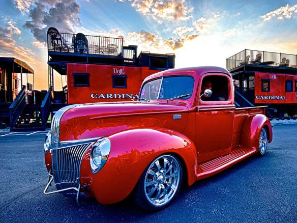 Larry Burchett's 1941 Ford Pickup Build #8