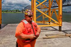 """Joe """"Rod"""" Rodriguez, Joe is responsible for all Walsh Construction tower cranes wherever they are deployed in the United States."""