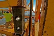 Crane Mast Connector detail