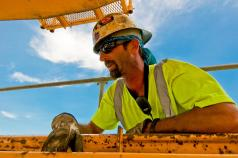 David Graff, Foreman, Ironworker Local 70.
