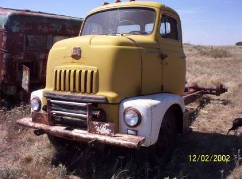 The original International Truck Sam found in Kansas
