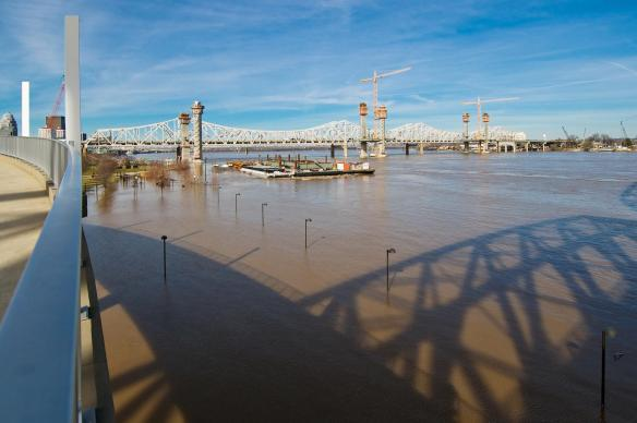 Ohio River Flooding of Waterfront Park #5