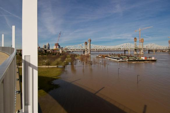 Ohio River Flooding of Waterfront Park #3