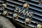 Evans Finned Aluminum Heads on a 1949 Mercury Flathead Engine.
