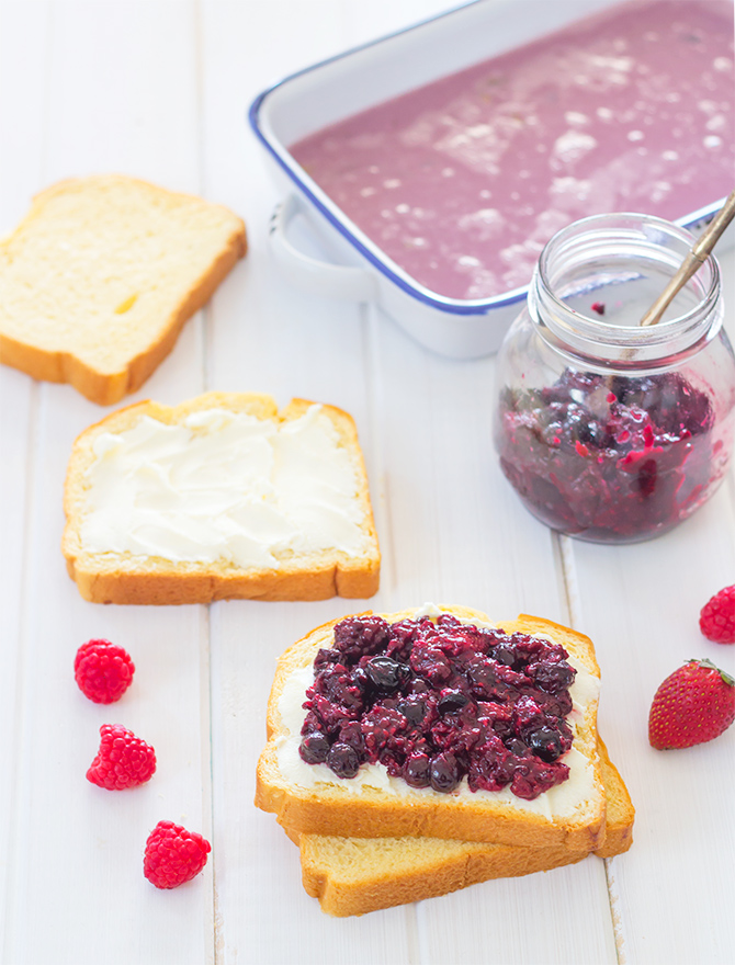 Berry Summer Pudding French Toast