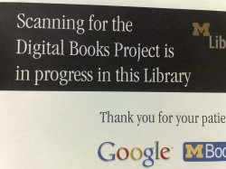 Hairy Google Book Search Notice Board At Michigan University Library Google Photo Books Add Text Google Photo Books Shipping Time