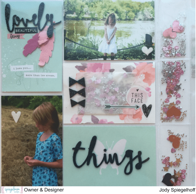 @spiegelmomscraps @jodyspiegelhoff @webserspages @allisonkreft @wermemorykeepers @wrmk @pinkfreshstudio, #spiegelmomscraps #scrapbook #websterspages #allisonkreft #sequins #sequinpockets #projectlife