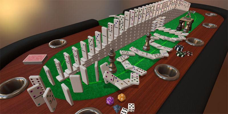 Nå kan du spille alle slags brettspill i VR