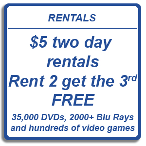 Spin-it Records & Video Rentals