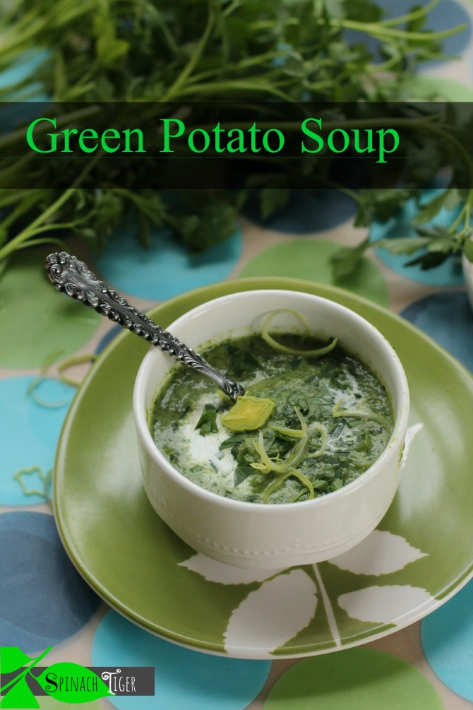 Watercress soup by Angela Roberts