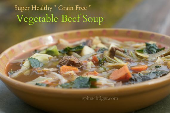 Paleo Vegetable Beef Soup I