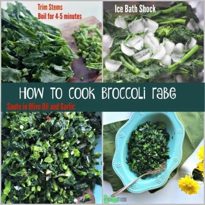 How to Cook the Best Broccoli Rabe Recipe also known as Rapini