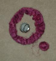 Cherry Tree Orenberg yarn in Raspberry Sorbet