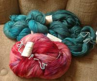 Whisper from Aurora and Jade Sapphire cashmere/silk