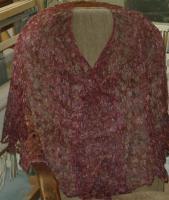 Michelle\'s Sea Silk shawl
