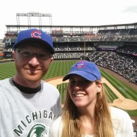 Cubs Fans at Coors Field
