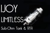 IJOY Limitless XL Sub-Ohm Tank & RTA Review – Spinfuel VAPE Magazine