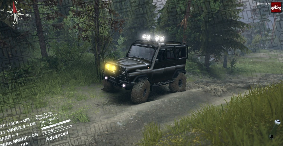 ST14 - UAZ HUNTER
