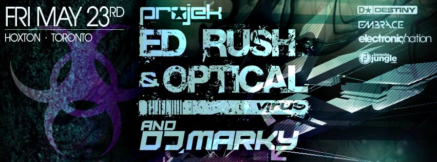 Ed Rush, Optical & Marky Teaser - mixed by DJ Spinz