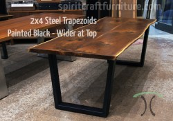 Small Of Steel Table Legs
