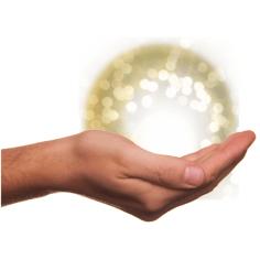 pranic healing hand ball of energy - designed by Aberrant Crochet