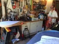 Cutting bike rack end pieces