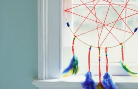 Βάλτε μια ονειροπαγίδα στο δωμάτιό σας για να διώξετε τα άσχημα όνειρα