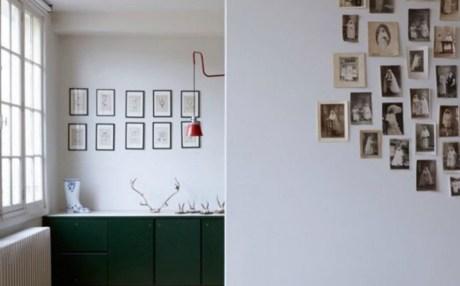 Κρεμάστε φωτογραφίες στους τοίχους χωρίς κάδρα