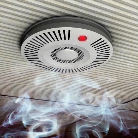 Μπορεί να ενεργοποιήσετε τον συναγερμό της φωτιάς καπνίζοντας κρυφά σε μέρος που δεν επιτρέπεται.