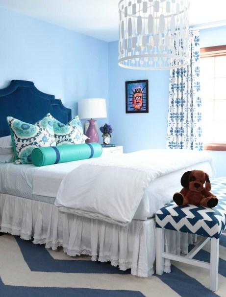 Το μπλε χρώμα στους τοίχους είναι η καλύτερη απόχρωση για να κοιμάστε πιο ήρεμα και εύκολα.