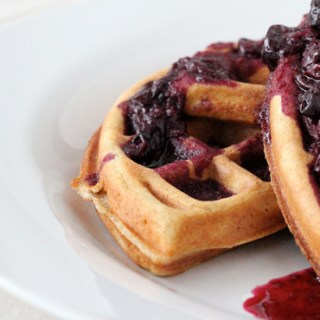 Blueberry Waffles2