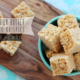 Brown Butter Rice Krispies
